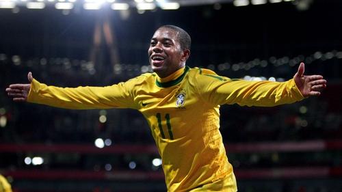 Robinho was at Santos on loan last season