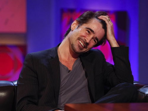 Colin Farrell - Enjoyed working at home on this project