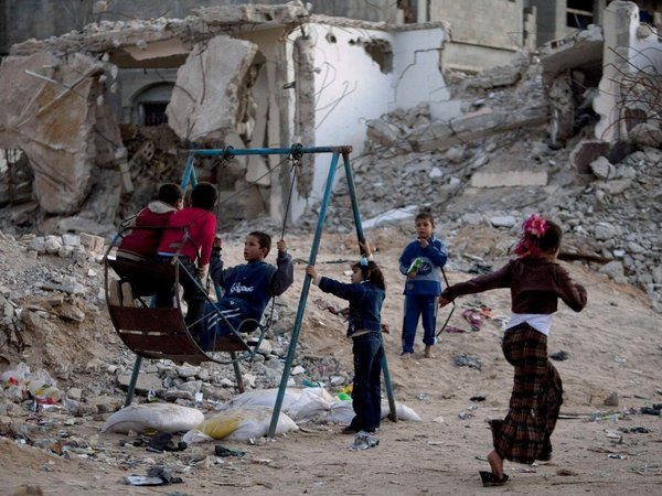 Gaza - 80% of people below poverty line