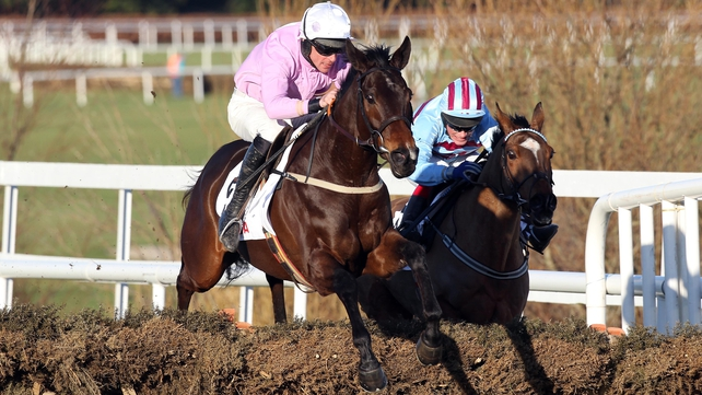 Solwhit's last action was the 2011 Irish Champion Hurdle