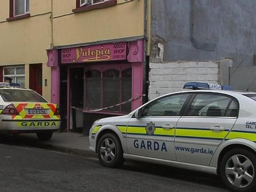 Sligo - Fire at shop