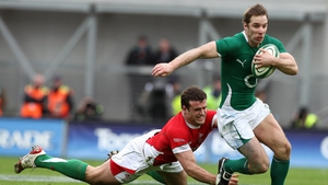 O'Leary in action for Ireland in 2010