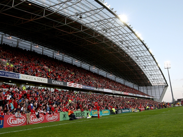 Thomond Park - Munster and Leinster clash is a sell-out
