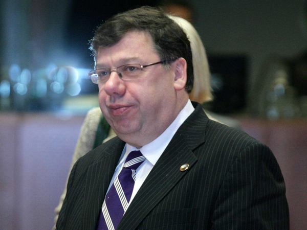 Brian Cowen - Meeting businesspeople