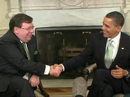 Cowen & Obama - Oval Office talks