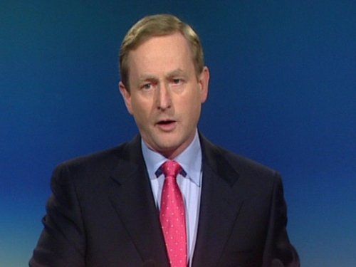 Enda Kenny - Bankers must not be allowed destroy economy