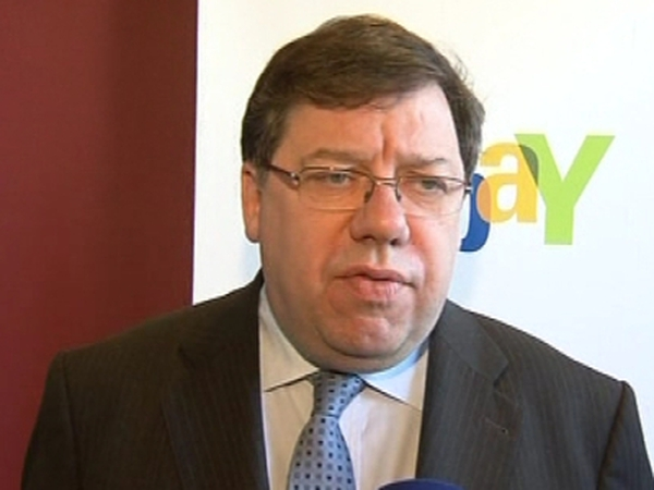 Brian Cowen - No issues with Green Party