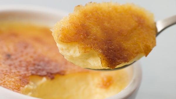 Blood Orange Crème Brûlée