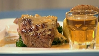 Char Grilled Aberdeen Angus Beef  - Served with Clapshot, Crispy Haggis, Curly Kale and a Glen Garioch Malt Whisky Cream