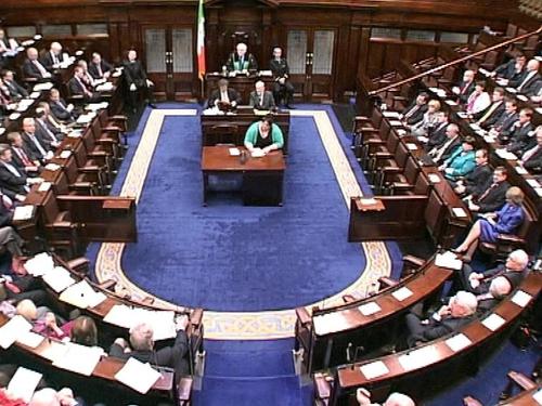 Dáil - Brian Cowen announces changes to Cabinet