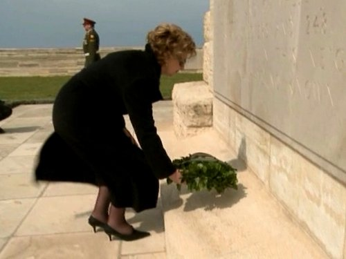 Mary McAleese - Visit to Gallipoli