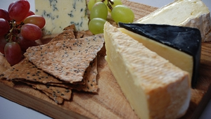 Cheeseboard from Tommy Bowe