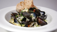 Moules Marinières - A delicious starter from Tommy Bowe.