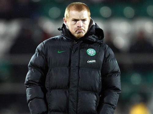 Neil Lennon looked visibly drained after Celtic's latest defeat