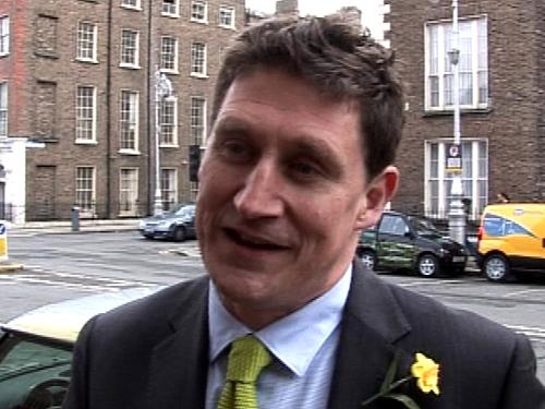 Eamon Ryan - Large amount of capital put into banks