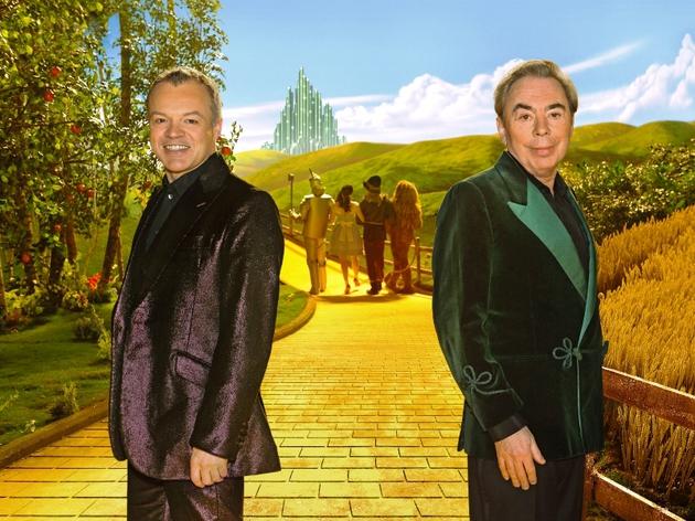 Host Graham Norton and Andrew Lloyd Webber