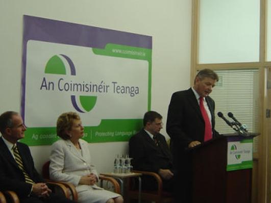Seán Ó Cuirreáin, An Coimisinéir Teanga.