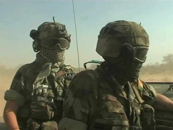 Chad - Irish troops stationed in country for past two years