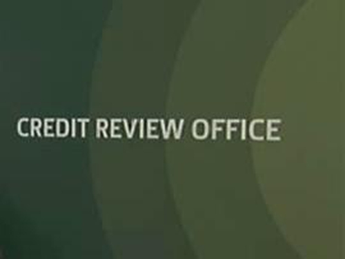 Credit Review Office - To review loan refusals