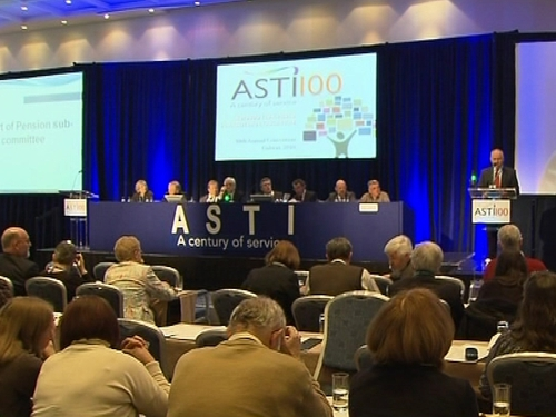 ASTI - Motion passed at annual conference