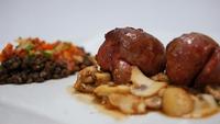 Rognon de Veau and Puy Lentils - Fintan O'Toole serves up kidneys and lentils.