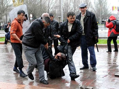 Kyrgyzstan - At least 47 people killed as opposition takes over