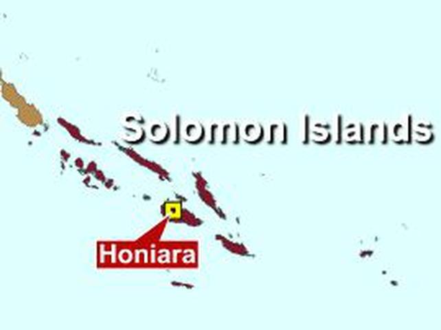 Major earthquake hits Solomon Islands