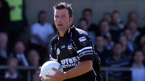 Paul Taylor in action for Sligo in 2010