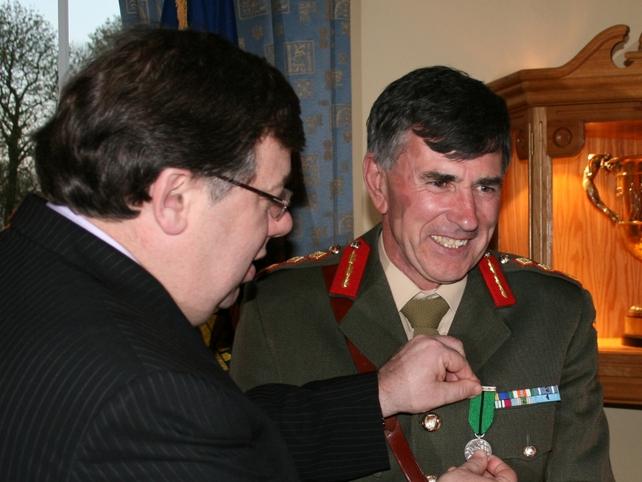 Lieutenant General Dermot Earley - Received award