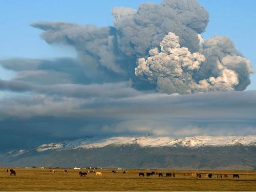 Iceland - Decreased volcanic activity