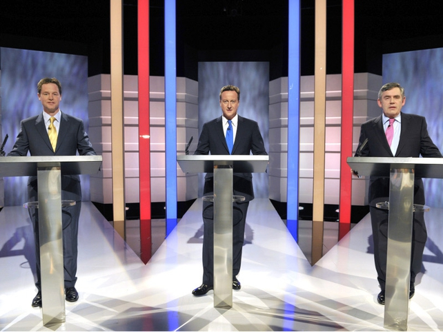 Debate - The leaders go head to head