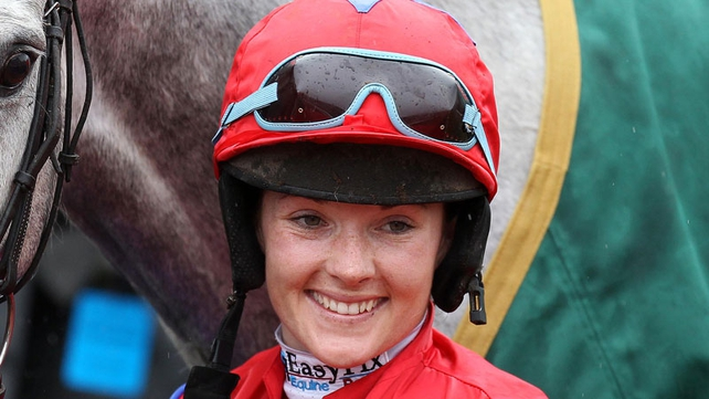 Our Monty - Katie Walsh was set for her first Aintree Grand National ride