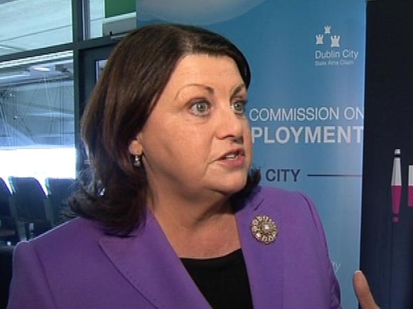 Máire Geoghegan-Quinn - Pressure over pension