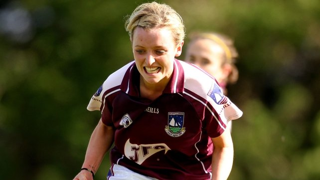 Edel Concannon was to the fore in Galway's victory