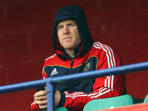 Paul O'Connell has been troubled by a groin problem since the end of the Six Nations