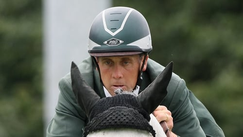 Shane Breen, on Ominerale Courcelle, won the speed class in Barcelona