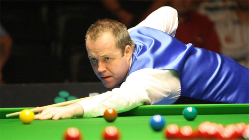 John Higgins was recording his second competitive maximum break of the season