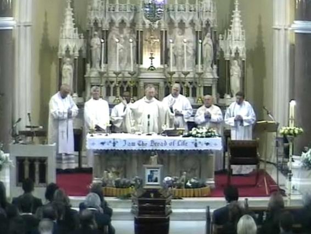 The Funeral Mass took place at St John the Baptist in Clontarf