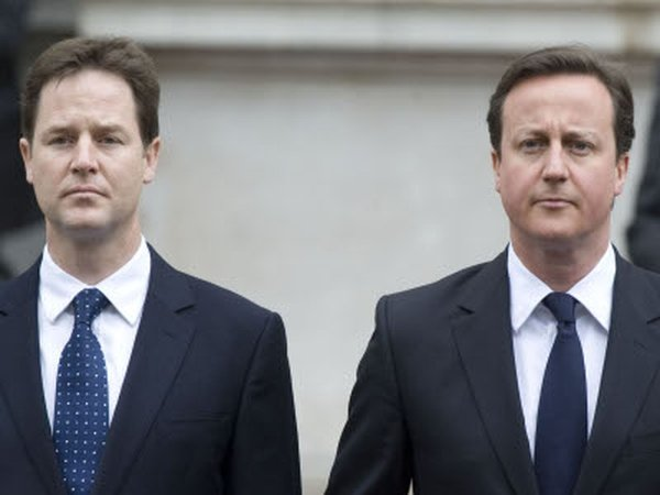 Clegg and Cameron - Held face-to-face talks
