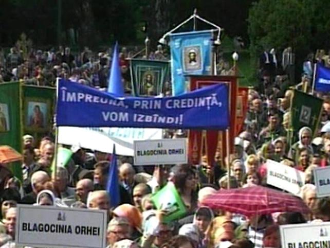 Moldova's population - 95% Eastern Orthodox