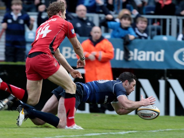 Rob Kearney sealed the win for Leinster