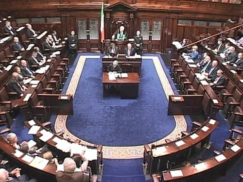 Dáil - Disagreement over proposals