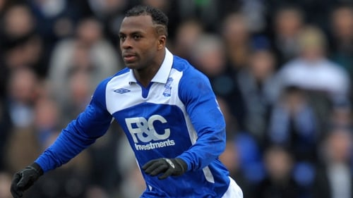 Christian Benitez in action for former club Birmingham City