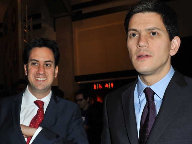Milibands - Brothers Ed and David vying to succeed Gordon Brown