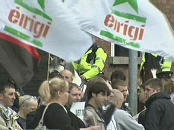 Dublin - Protest over NAMA