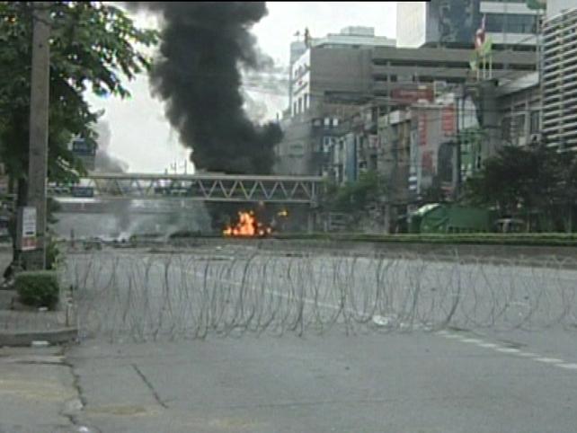 Bangkok - Parts of city sealed off