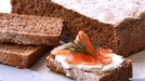 Maura's Brown Bread - Served with smoked salmon, capers and a lemon mayonnaise.