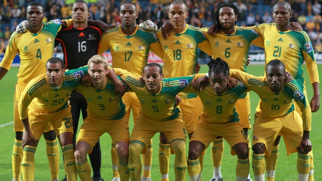 The South African football team is known as Bafana Bafana (The Boys)