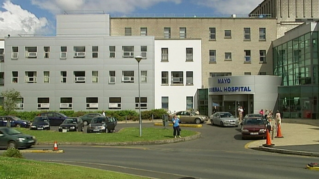 A post mortem was due to be carried out on the woman's body at Mayo General Hospital