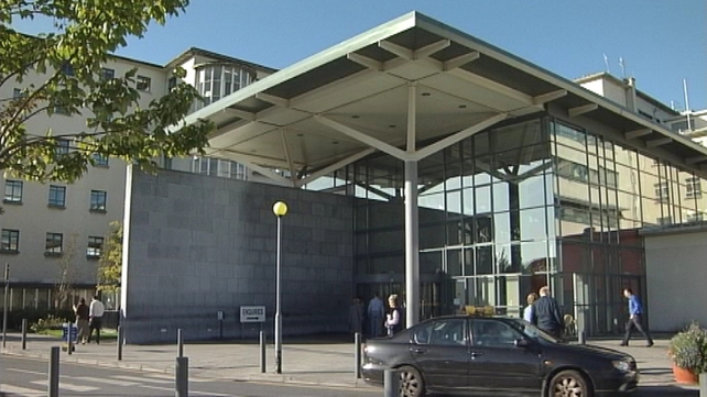 The man has been brought to Galway University Hospital